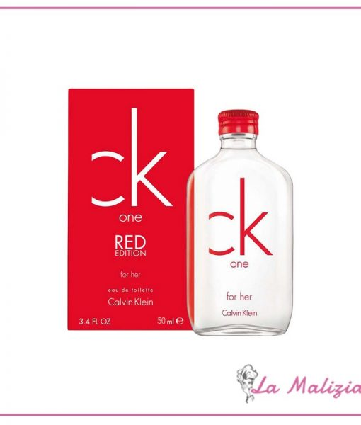 CK One Red for her edt 50 ml spray