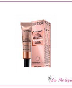 Dermolab anti età plus+ crema contorno occhi e labbra effetto lifting anti-cedimento 15 ml