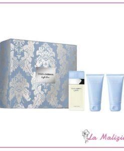 Dolce & Gabbana Confezione Light Blue edt 50 ml + Shower Gel 50 ml + Body Cream 50 ml